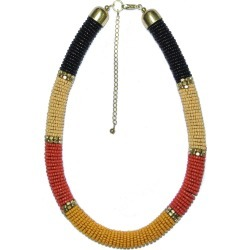 Muse Multi Seed Bead Necklace - Unknown - size One Size