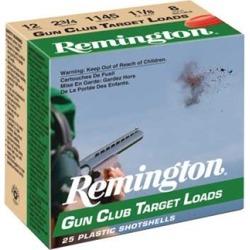 Remington Gun Club Target Ammo 20 Gauge 2-3/4