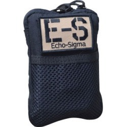 Echosigma Emergency Systems Compact Survival Kits - Compact Survival Kit, Black