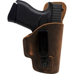 Muddy River Tactical Tuckable Inside The Waistband Water Buffalo Holsters - Springfield Xds 3.3 Tuckable Leather Iwb Holster found on Bargain Bro India from brownells for $49.95