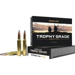 Nosler Custom 33 Nosler Ammo - 33 Nosler 250gr Partition Spitzer 20/Box found on Bargain Bro Philippines from brownells for $81.99