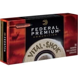 Federal Vital-Shok Ammo 6.5 Creedmoor 120gr Trophy Copper - 6.5 Creedmoor 120gr Trophy Copper 200/Case found on Bargain Bro India from brownells for $305.99