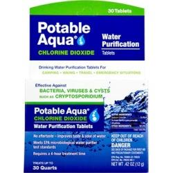 Potable Aqua Tablets - Potable Aqua Chlorine Dioxide Tablets