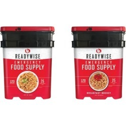 Wise Foods 240 Servings Or 1 Month Supply - 240 Servings Or 1 Month Supply Of Survival Food