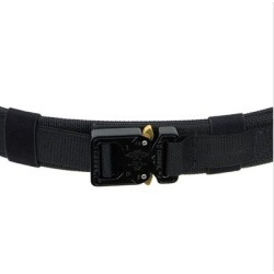 Ares Gear Ranger Belt - Ranger Belt X-Small Coyote/Black Webbing Black Buckle found on Bargain Bro Philippines from brownells for $84.99