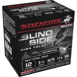 Winchester Blind Side Waterfowl 12 Gauge Ammo - 12 Gauge 3-1/2