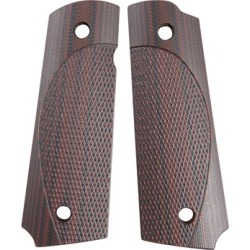 Vz Grips 1911  Elite Tactical Carry Grips - Vz Elite Tactical Carry Grips, Black Cherry found on Bargain Bro Philippines from brownells for $62.99