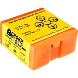 """Berger Bullets Elite Hunter Bullets 30 Caliber 180gr Hpbt - 30 Caliber (0.308"""") Elite Hunter 180gr 100/Box"""