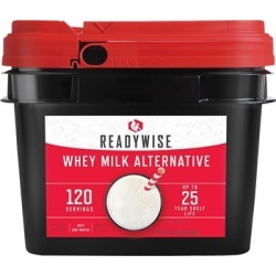 Wise Foods 120 Servings Of Wise Long-Term Dry Powdered Whey Milk - 120 Servings Of Long-Term Dry Powdered Whey Milk