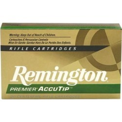 Remington Premier Accutip Ammo 308 Winchester 165gr Bt - 308 Winchester 165gr Accutip 20/Box found on Bargain Bro India from brownells for $25.99