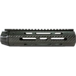 Lancer Systems Ar-15 Lch5 Handguard Carbon Fiber Free Float Full Top Rail - Lch5 Handguard Carbon Fiber Free Float Top Rail 9   Black found on Bargain Bro Philippines from brownells for $219.99