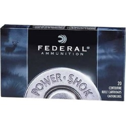 Federal Power-Shok Ammo 30-06 Springfield 220gr Sp - 30-06 Springfield 220gr Soft Point 20/Box found on Bargain Bro Philippines from brownells for $26.99