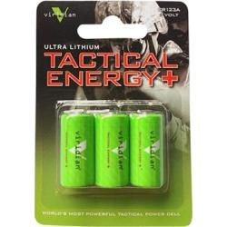 Viridian Cr123a Lithium Batteries - Lithium Cr123a Batteries 3-Pack