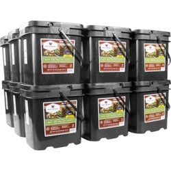 Wise Foods 1080 Serving Gourmet Freeze Dried Meat Grab & Go Food Kit