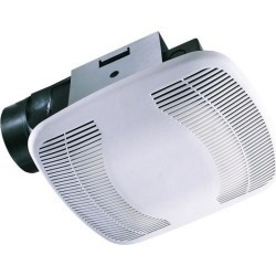 Air King BFQ110 110 CFM 3.5 Sone Exhaust Fan with Snap-In Installation from the