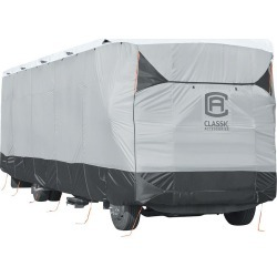 Classic Accessories SkyShield Deluxe Tyvek RV Class A Cover, 37'-40' found on Bargain Bro Philippines from Camping World for $600.83