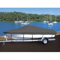 Hot Shot Coated Polyester Boat Cover For Lowe L 1730 Fish-N-Ski 1730 Fish-N-Ski found on Bargain Bro from Camping World for USD $224.82