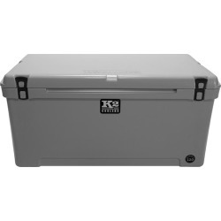 K2 Summit 120 Quart Cooler, Steel Gray found on Bargain Bro from Camping World for USD $331.35