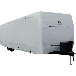 Classic Accessories PermaPro Heavy Duty RV Cover, Travel Trailer, 35'-38' found on Bargain Bro Philippines from Camping World for $408.99