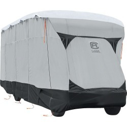 Classic Accessories SkyShield Deluxe Tyvek RV Class C Cover, 20'-23' found on Bargain Bro Philippines from Camping World for $459.97