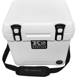 K2 Summit 20 Quart Cooler, Glacier White found on Bargain Bro from Camping World for USD $114.75