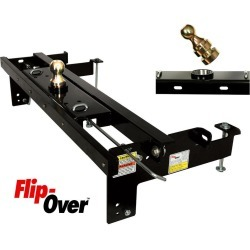 Flip-Over Underbed Gooseneck Hitch, Fits 2013 Dodge Ram 3/4 Ton Only found on Bargain Bro Philippines from Camping World for $460.00