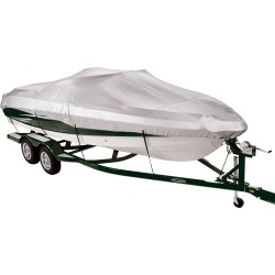 Covermate 150 Mooring and Storage Boat Cover for 14'-16' V-Hull, Tri-Hull Boat found on Bargain Bro from Camping World for USD $34.57