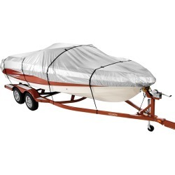 Covermate HD 600 Trailerable Boat Cover for 17'-19' V-Hull Center Console Boat found on Bargain Bro India from Camping World for $118.99