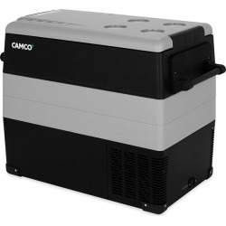 Camco 450 Portable 55-Liter Electric Cooler with Single Zone Cooling found on Bargain Bro from Camping World for USD $333.23