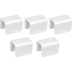 "Square 1-1/4"" Biminiclip, 5-Pack"