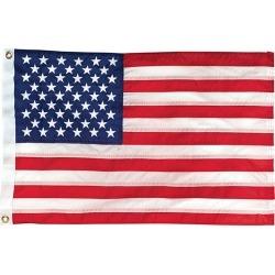 "Sewn American Flag, 24"" x 36"""