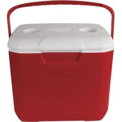 Coleman 30 Quart Excursion Cooler, Red found on Bargain Bro from Camping World for USD $25.26