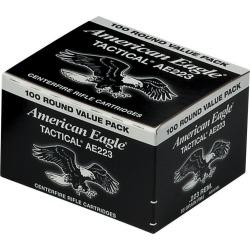 American Eagle .223 Rem Ammunition, 100-rounds