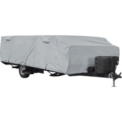 Classic Accessories PermaPro Heavy Duty RV Cover, Folding Camping Trailer, 10'-12' found on Bargain Bro Philippines from Camping World for $102.97