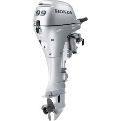 Honda BFP9.9 Power Thrust Portable Outboard Motor, Manual Start 9.9 HP 25