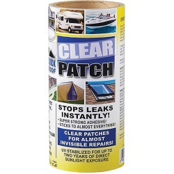"""Quick Roof Clear Patch 8""""X6'"""