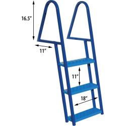 Tie-Down 3-Step Dock Ladder