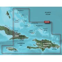 Garmin BlueChart g2 HD Cartography, Southern Bahamas
