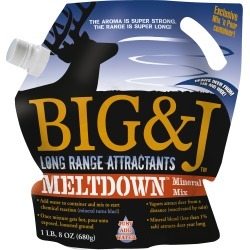 Big & J Meltdown Mineral Mix Deer Attractant found on Bargain Bro Philippines from Camping World for $6.32