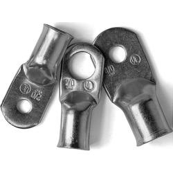 Ancor Tinned Copper Lugs, 6 AWG, #10 Screw, 2-Pk.
