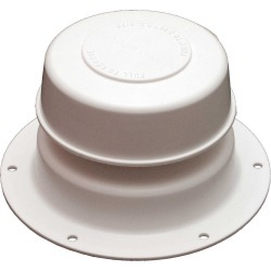 Replace-All Plumbing Vent Only - Polar White found on Bargain Bro India from Camping World for $5.69