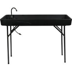 Allure Furniture Rectangular Folding Table with Faucet and Sink found on Bargain Bro from Camping World for USD $45.59