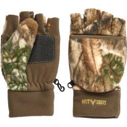 Hot Shot Men's Bulls-Eye Hunting Gloves found on Bargain Bro from Camping World for USD $12.99