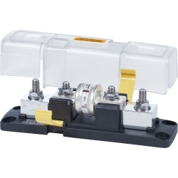 Blue Sea Systems Class T Fuse Block With Insulating Cover, 225 to 400A