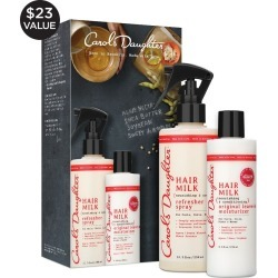 Hair Milk Gift Set with Curl Refresher Spray Leave In Moisturizer