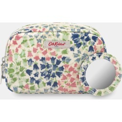 Cath Kidston Tiny Painted Bluebell Classic Make Up Case in Warm Cream found on Bargain Bro UK from Cath Kidston (UK)
