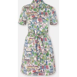 Cath Kidston London View Short Sleeve Shirt Dress in Dark Cream, 100% Cotton, 16 found on Bargain Bro UK from Cath Kidston (UK)