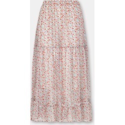Cath Kidston Ashbourne Ditsy Print Tiered Skirt in Stone, 100% Viscose, 6 found on Bargain Bro UK from Cath Kidston (UK)