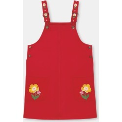Cath Kidston Rosie Pinafore Dress in Red, 2-3 yr found on Bargain Bro UK from Cath Kidston (UK)