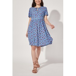 Cath Kidston Cherries Printed Tea Dress in Blue, 10 found on MODAPINS from Cath Kidston (UK) for USD $112.81